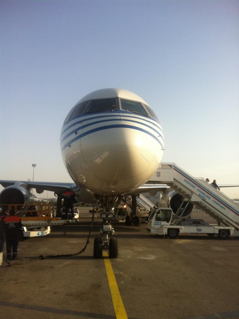 Боинг-757-200 Азербайджанских авиалиний