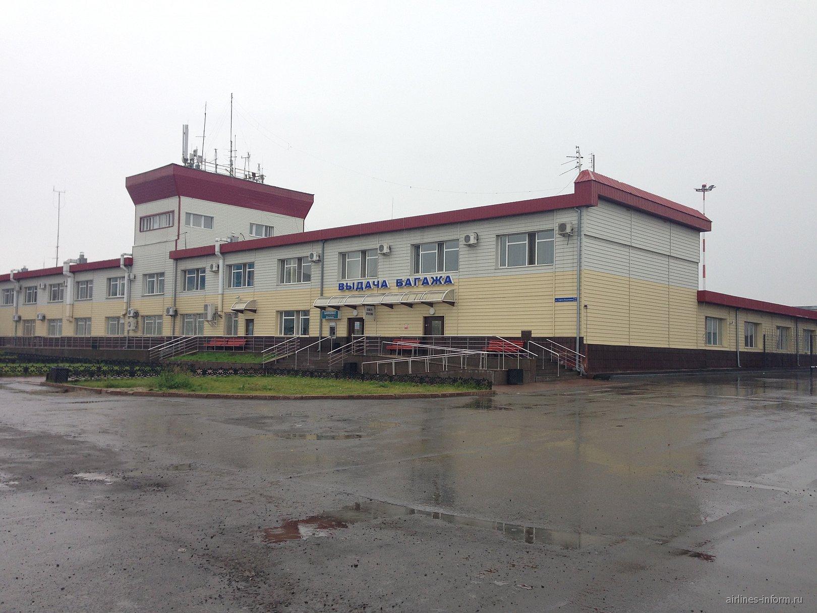 Терминал выдачи багажа в аэропорту Тюмень Рощино
