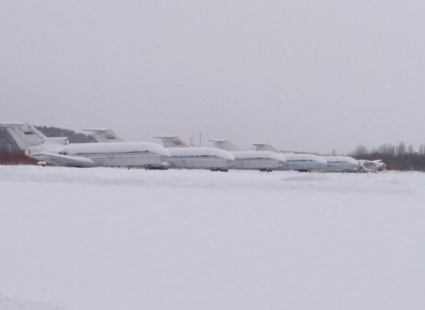 В аэропорту Котлас