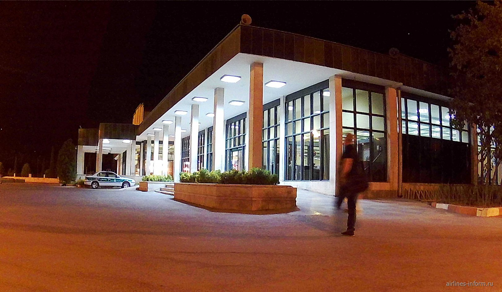 Аэровокзал аэропорта Шираз