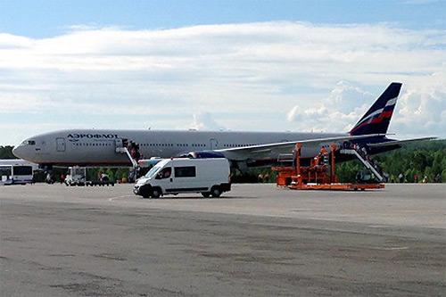 Москва - Красноярск с Аэрофлот на новом Boeing 777-300