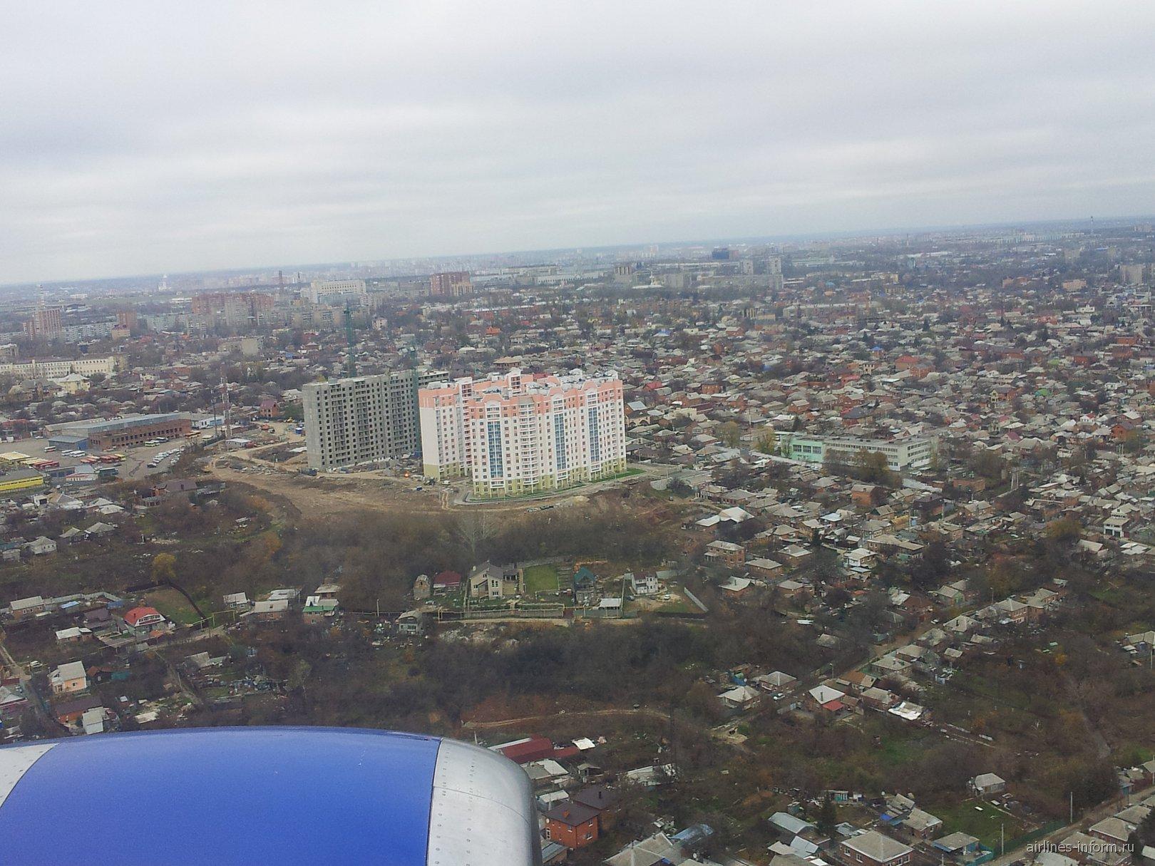 В полете над Ростовом-на-Дону