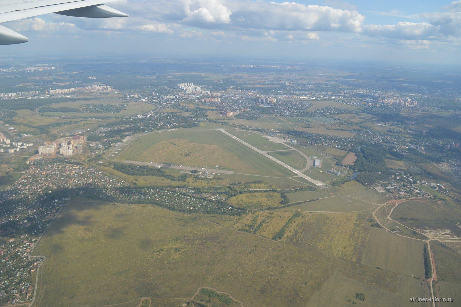 Аэродром Остафьево в Подмосковье