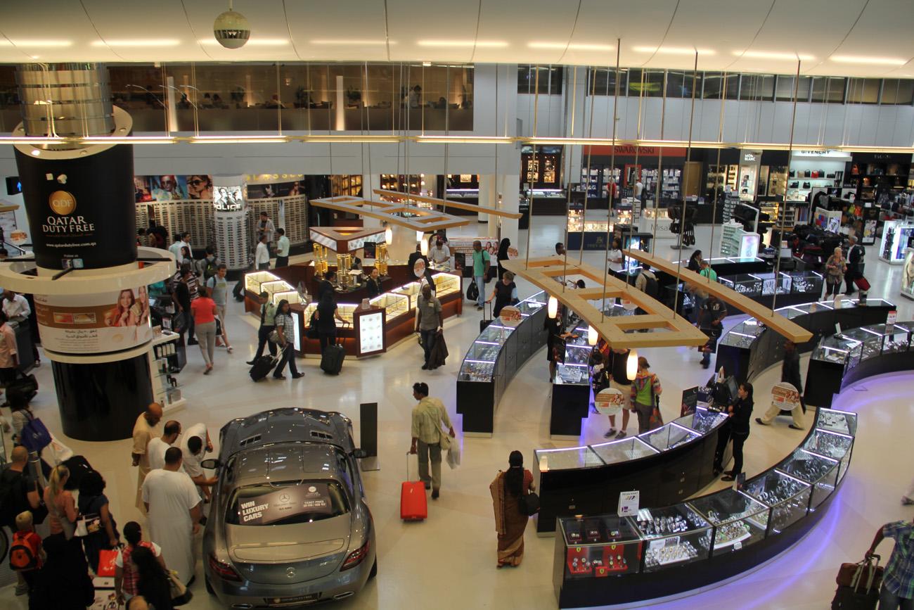 Магазины дьюти-фри в аэропорту Доха
