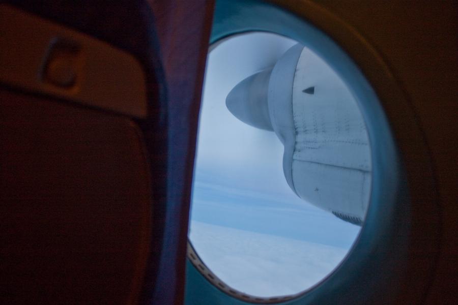 Ан-24 выполняет рейс Саранск-Москва