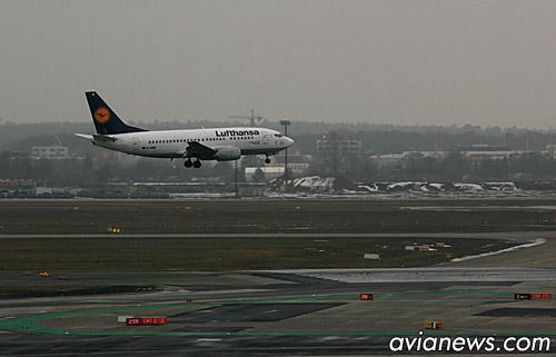 Warsaw-Frankfurt with Lufthansa