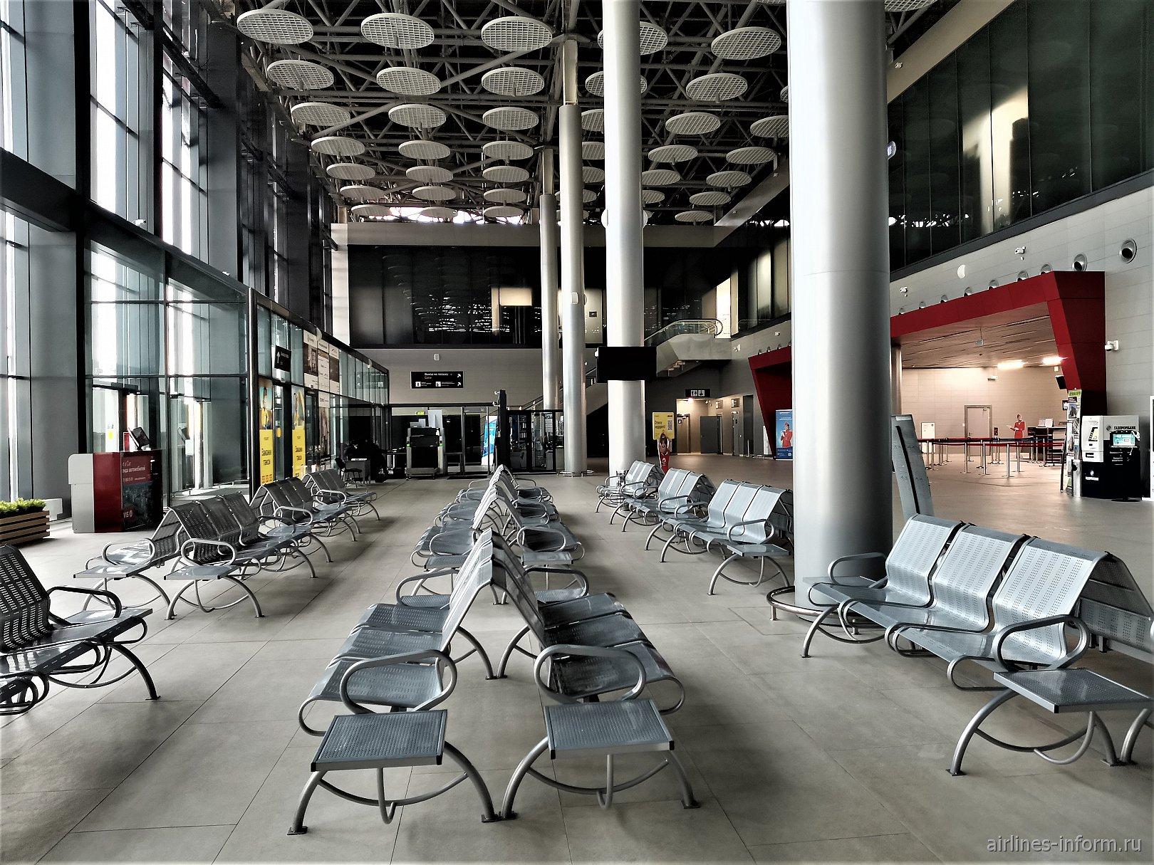 Общая зона в терминале А аэропорта Саранск