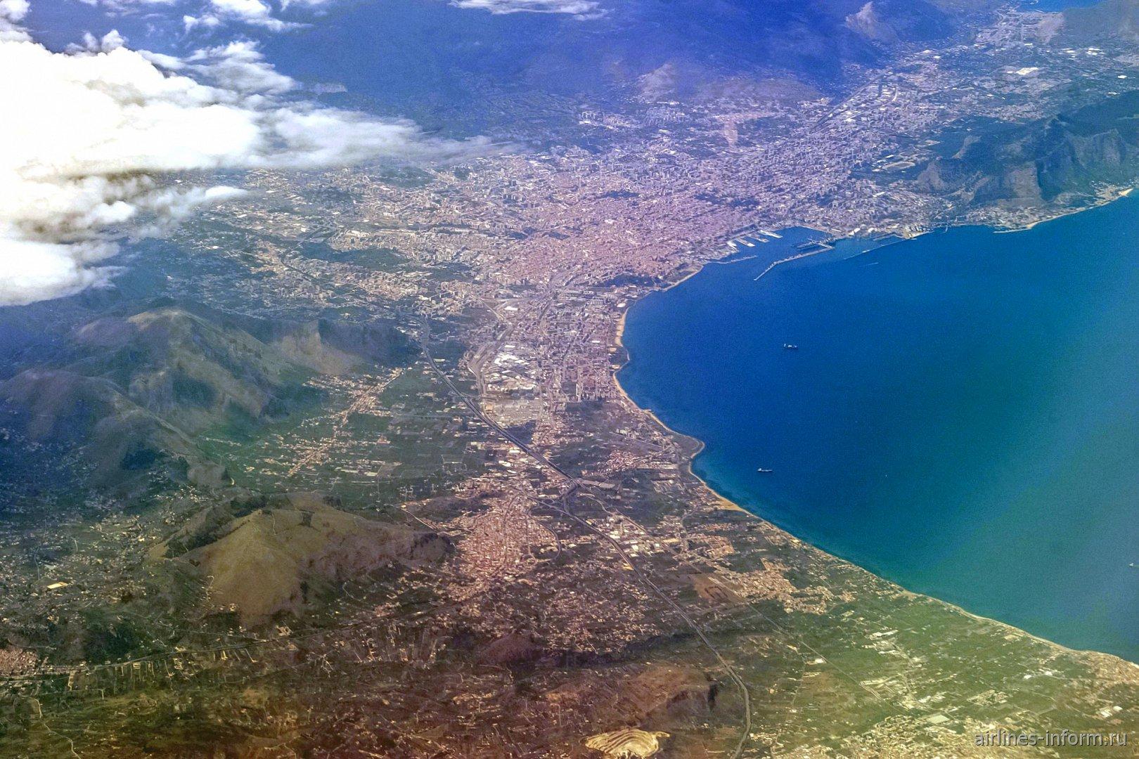 Город Палермо в Италии