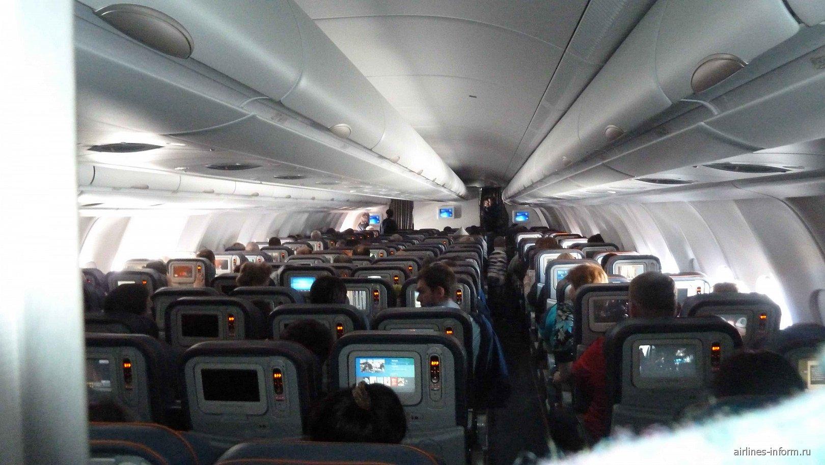 В самолете Airbus A330-300 авиакомпании Аэрофлот