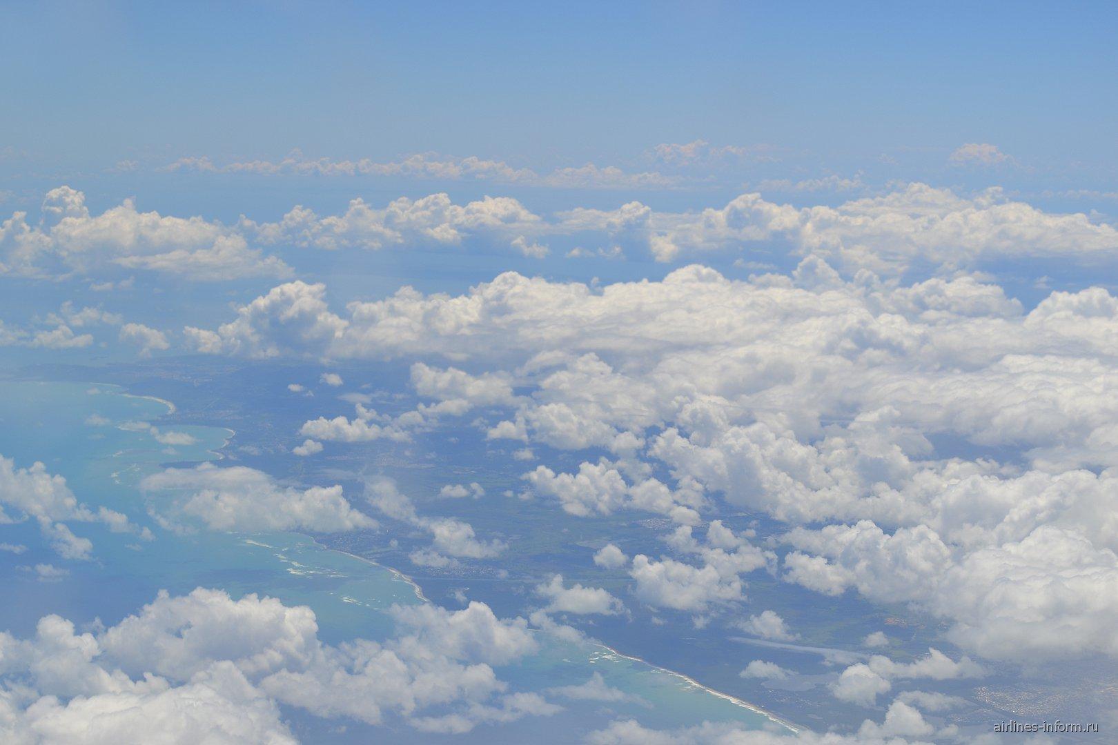 Облака над Пуэрто-Рико
