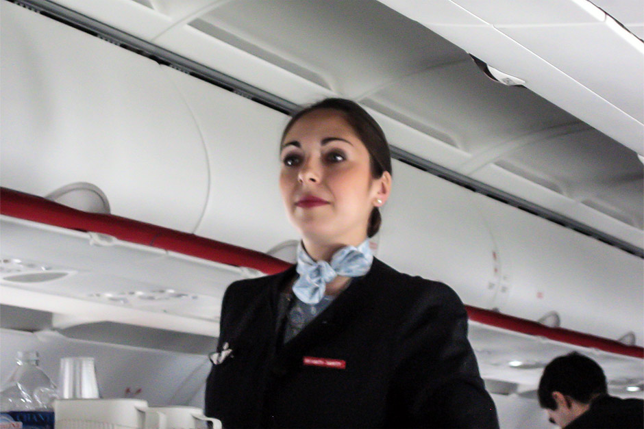 Air France cabin attendents