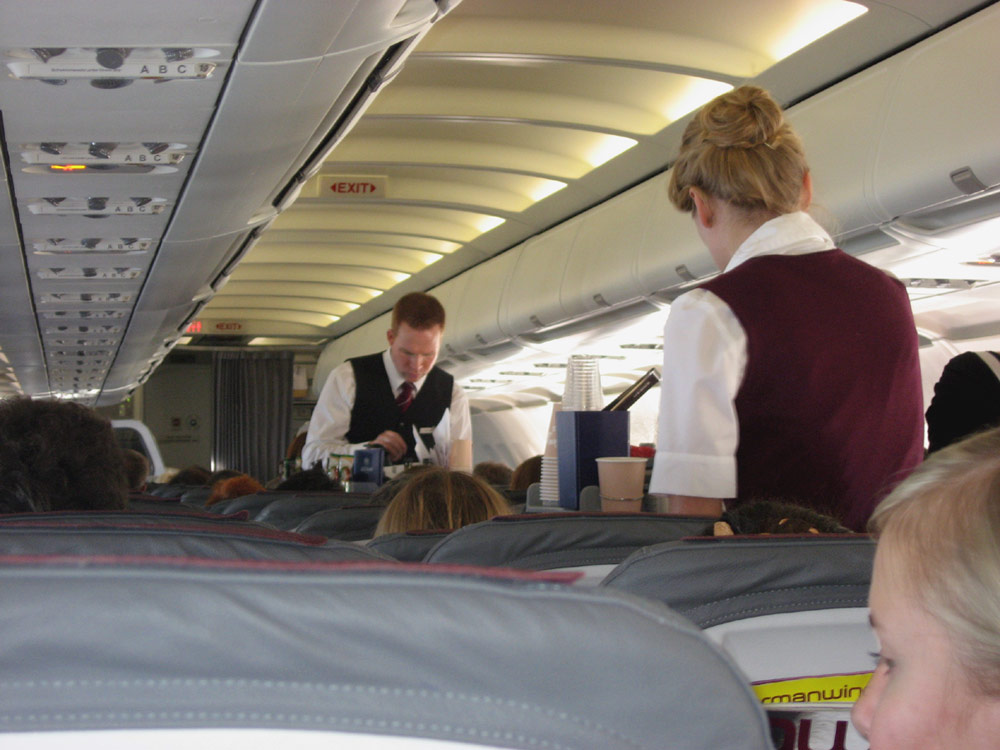 Inflight services of Germanwings