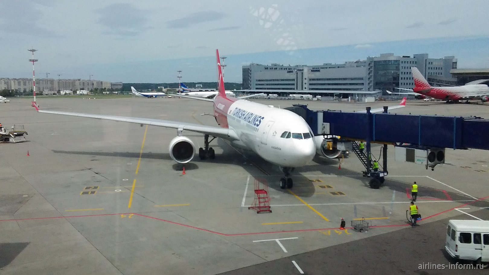 Полёт в солнечную Турцию с Turkish Airlines