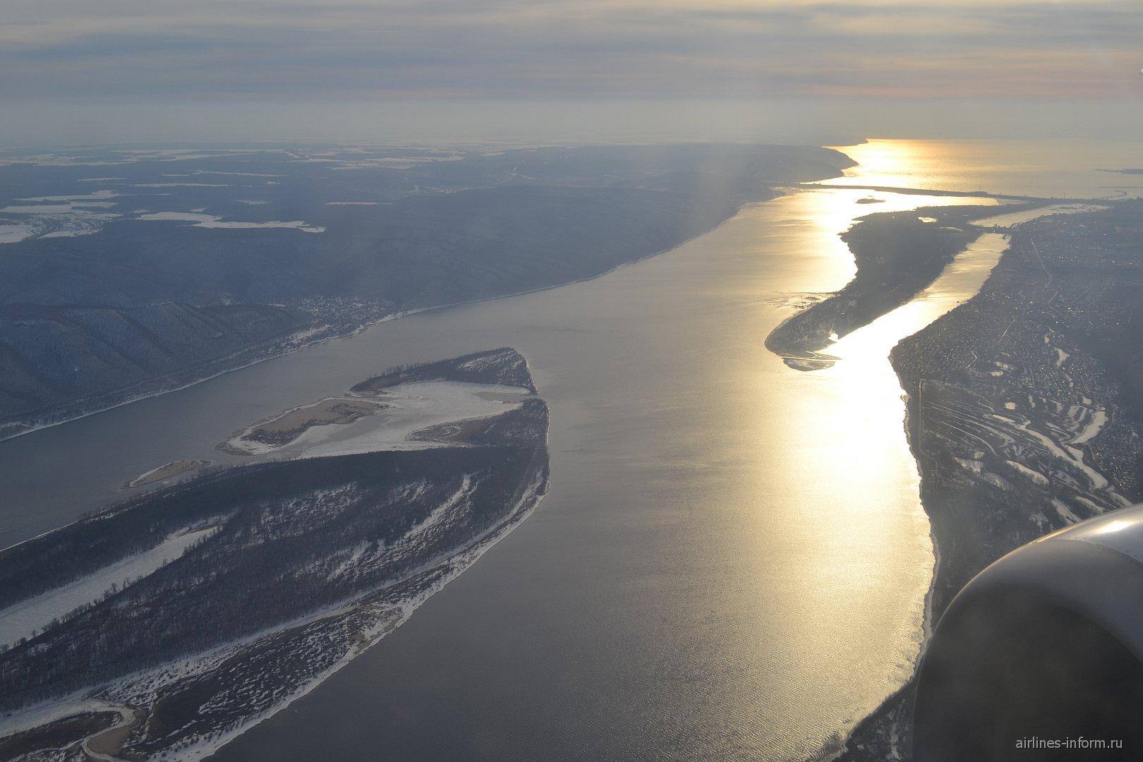 Река Волга в районе Самары