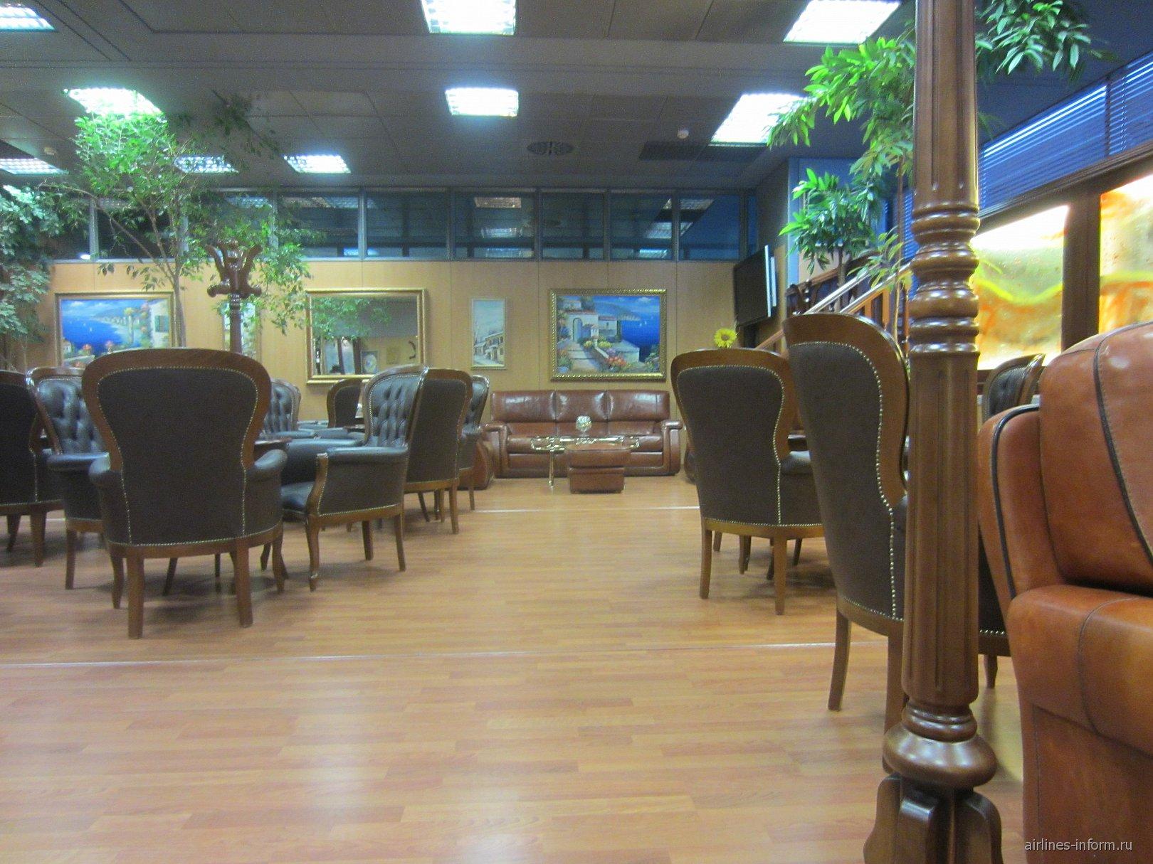 Бизнес-зал аэропорта Салоники