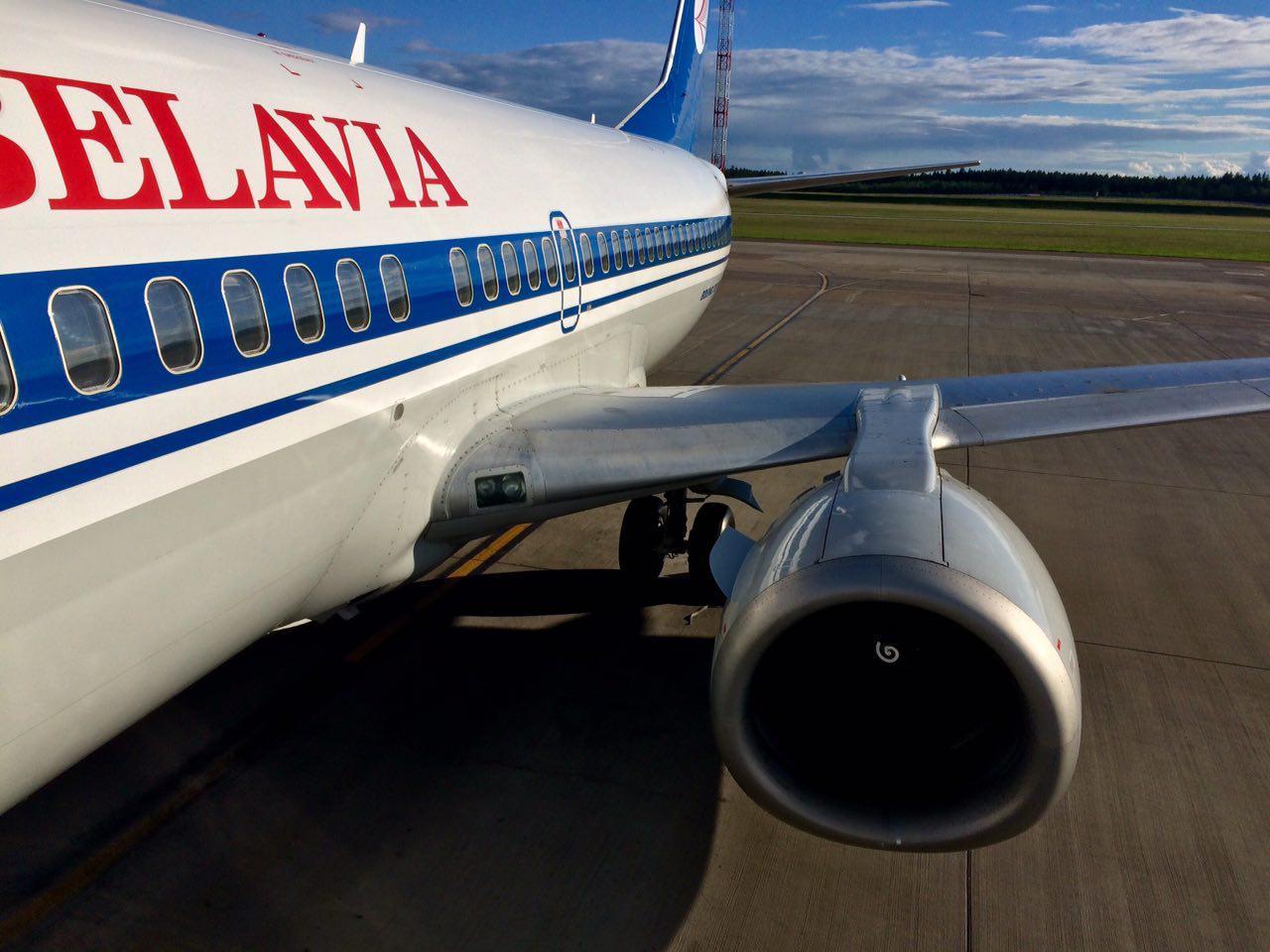 Вспоминая лето. Финальная часть путешествия в Одессу: Минск - Москва. Boeing 737-300 Belavia.
