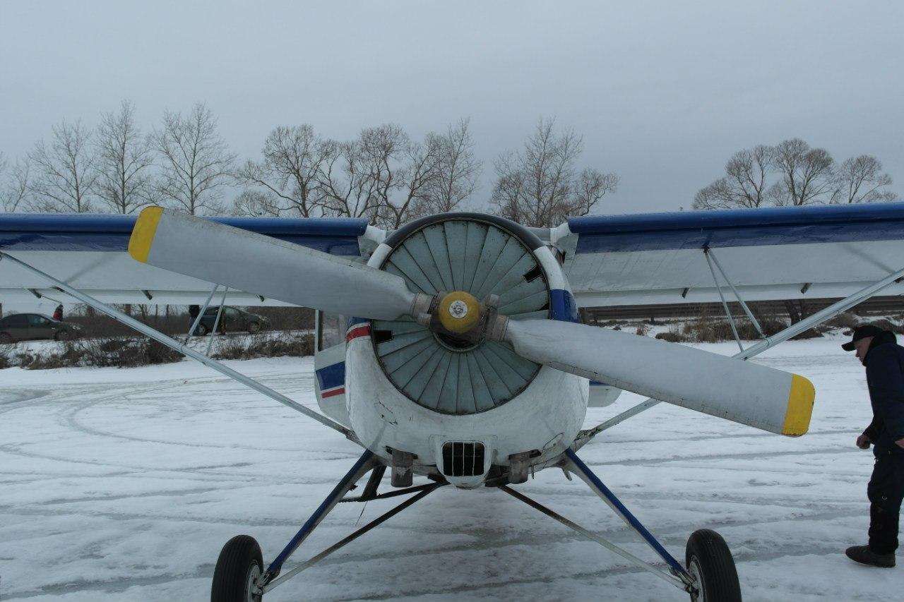 Винт самолета Як-12