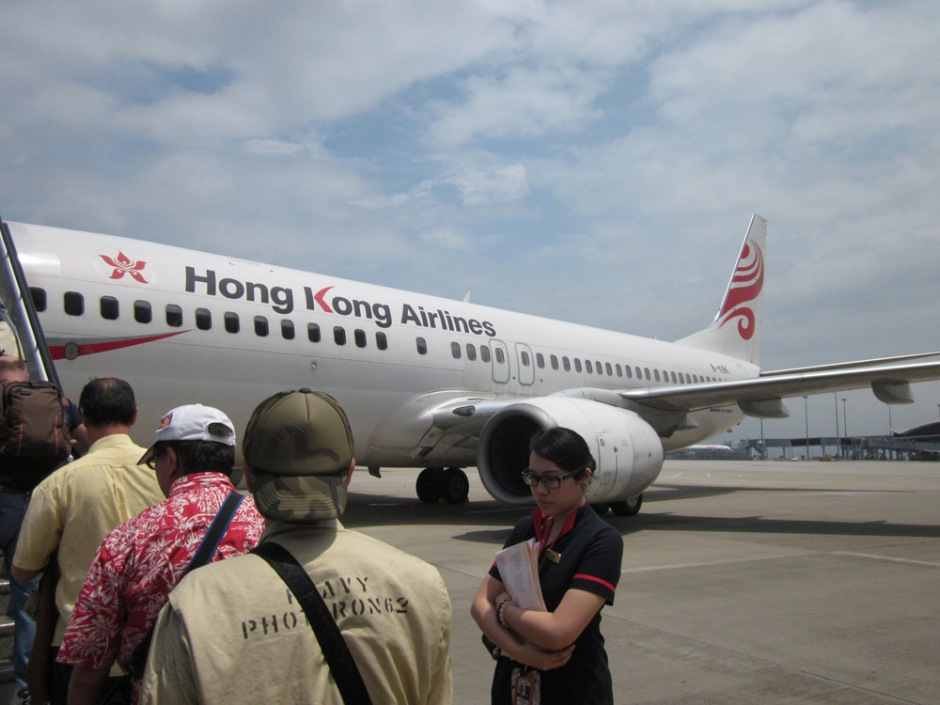 Boeing 737-800 of Hong Kong Airlines