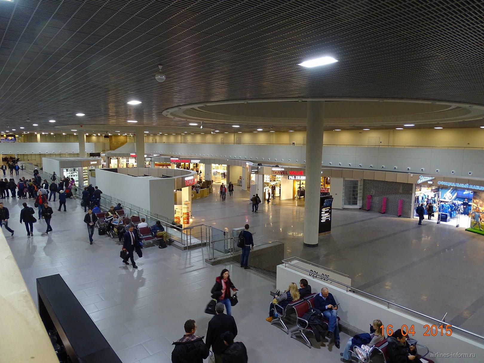 Обновленный аэровокзал Пулково-1. Сейчас сектор D пассажирского терминала.