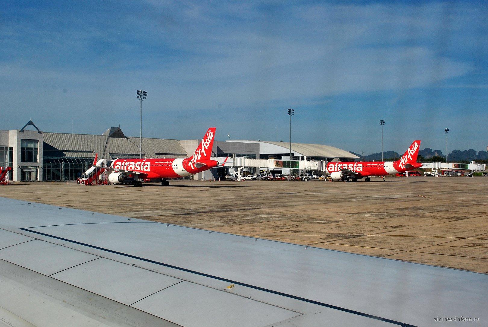 Пассажирский терминал аэропорта Краби
