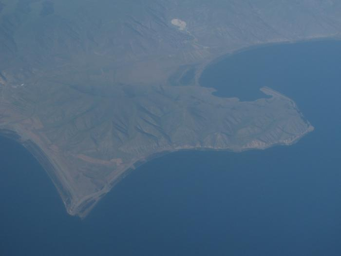 Flying over Armenia