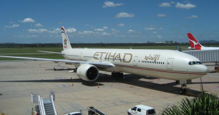 Боинг-777-300 авиакомпании Etihad Airways