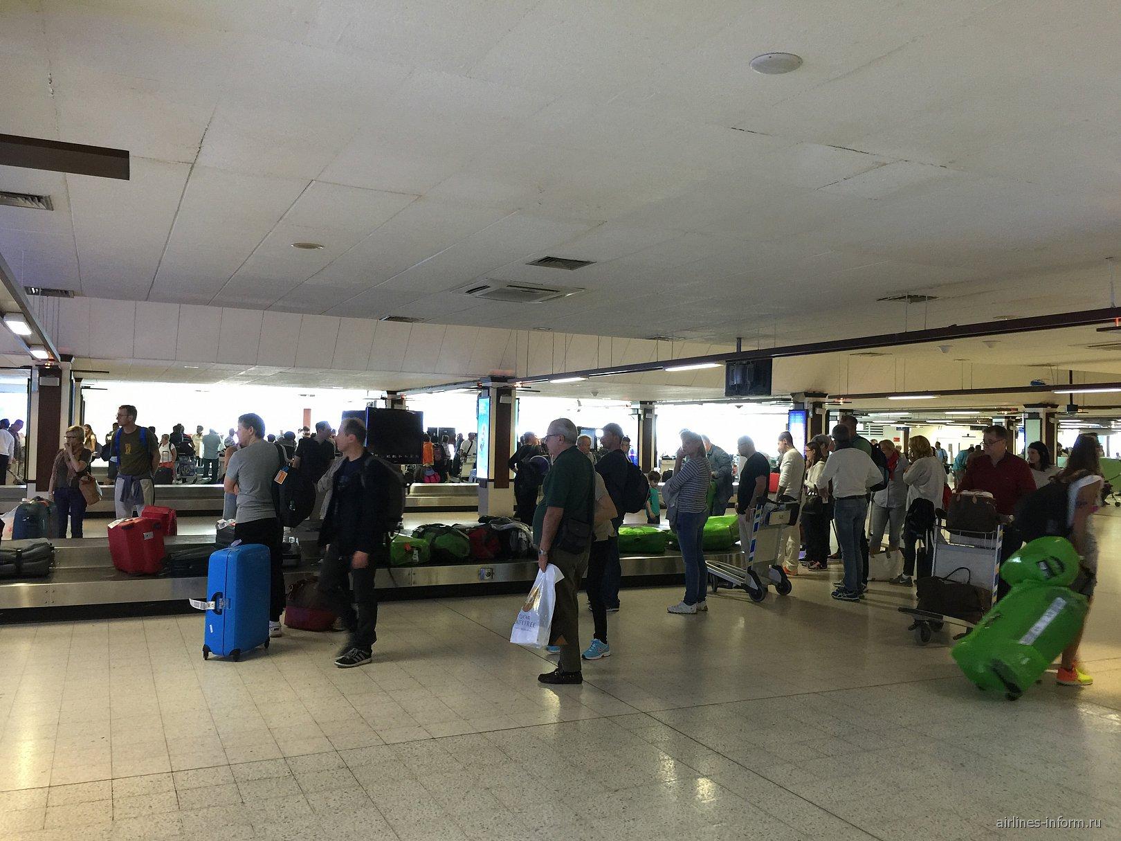 Зал выдачи багажа в аэропорту Мале Ибрагим Насир
