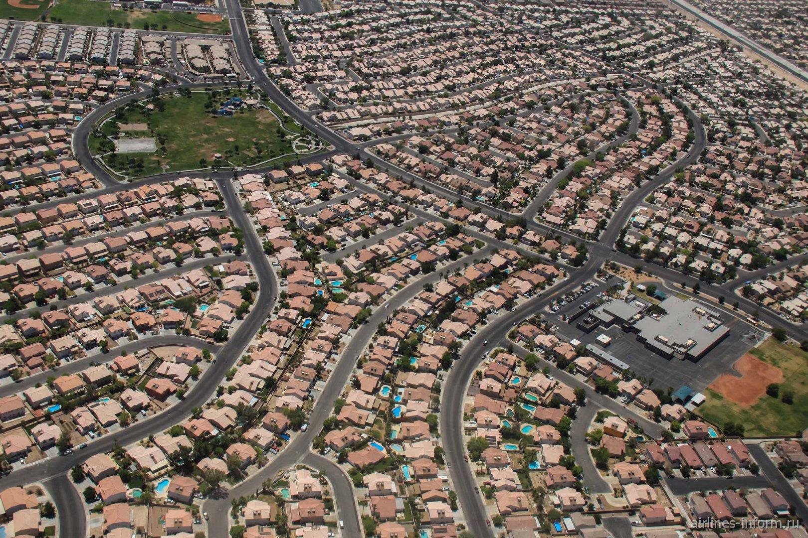 Жилые кварталы Лас-Вегаса