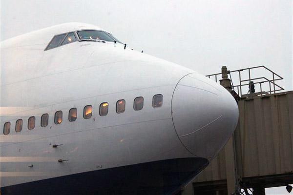 Перелет 747-300 Transaero Пулково(Санкт-Петербург) - Анталья(Турция) и обратно бизнес классом
