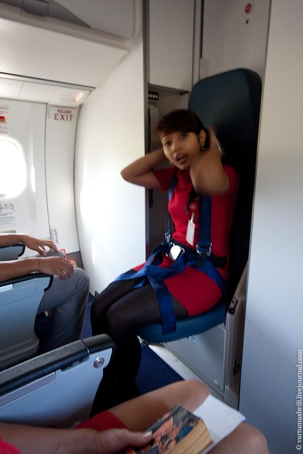 Бортпроводница авиакомпании авиакомпании Wings Air