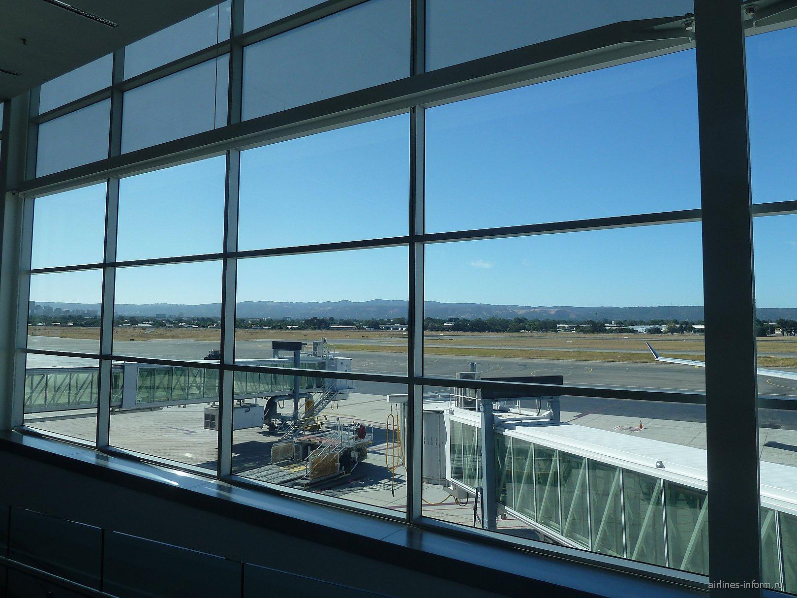 В аэропорту Аделаида