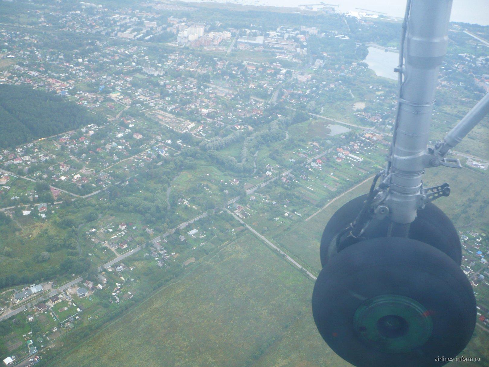 Рейс Псков-Санкт-Петербург авиакомпании Псковавиа