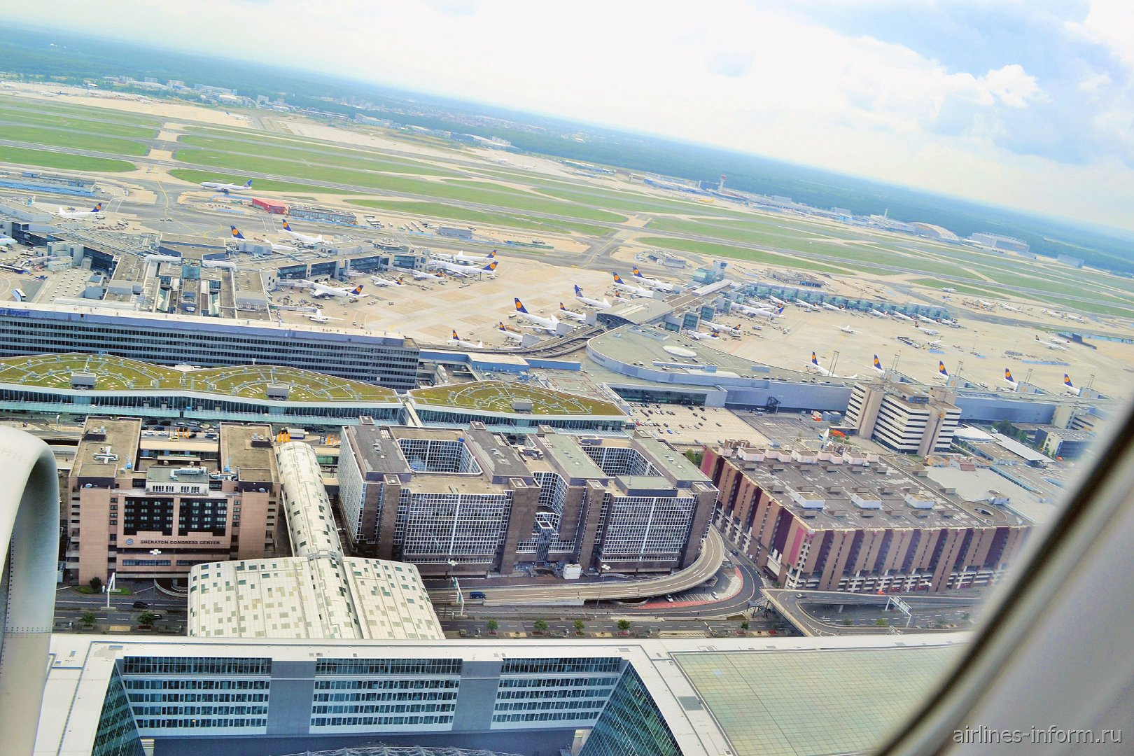 Терминал 1 аэропорта Франкфурт