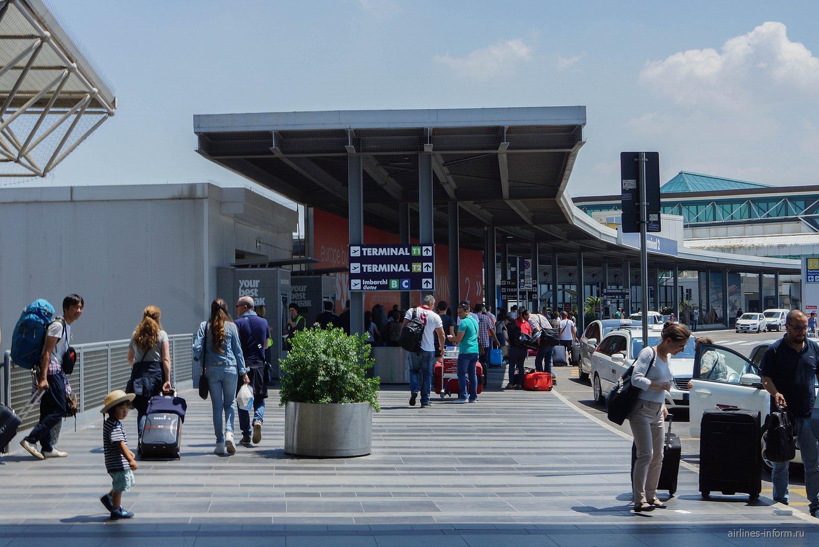 Лоу-кост терминал 2 аэропорта Рим Фьюмичино
