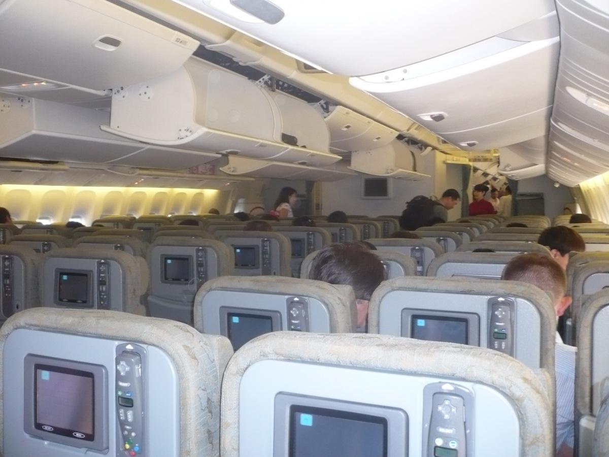 В самолете Боинг-777-200 Вьетнамских авиалиний