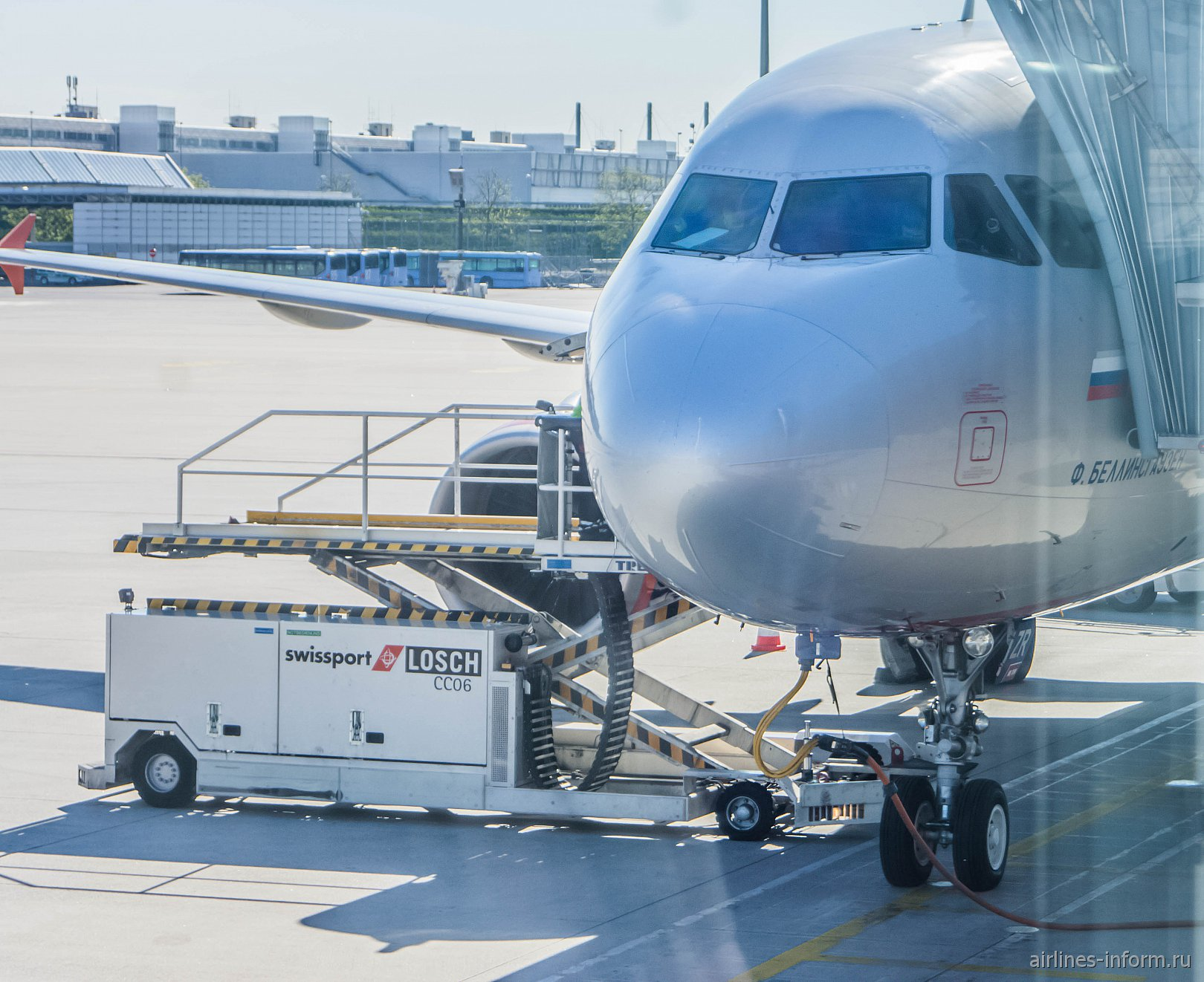 Munich - Moscow SU2327 Aeroflot