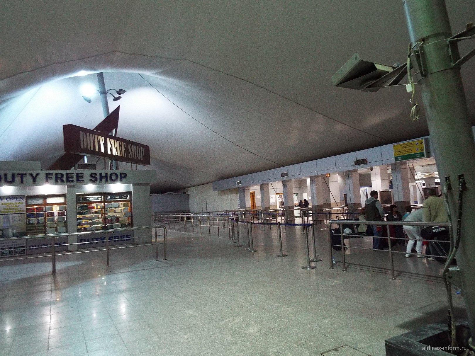 В терминале 2 аэропорта Хургада