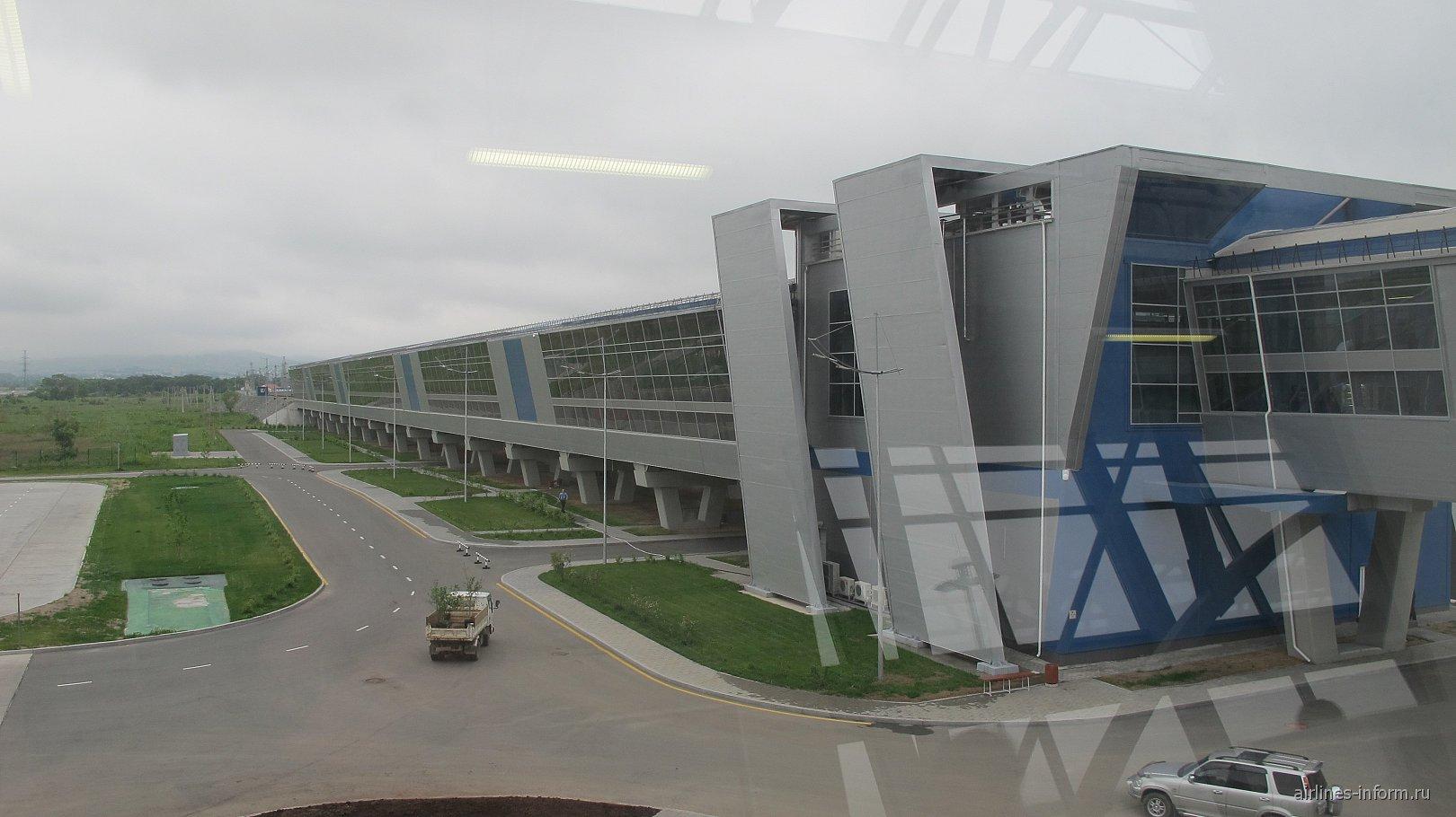Терминал Аэроэкспресса в аэропорту Владивосток Кневичи