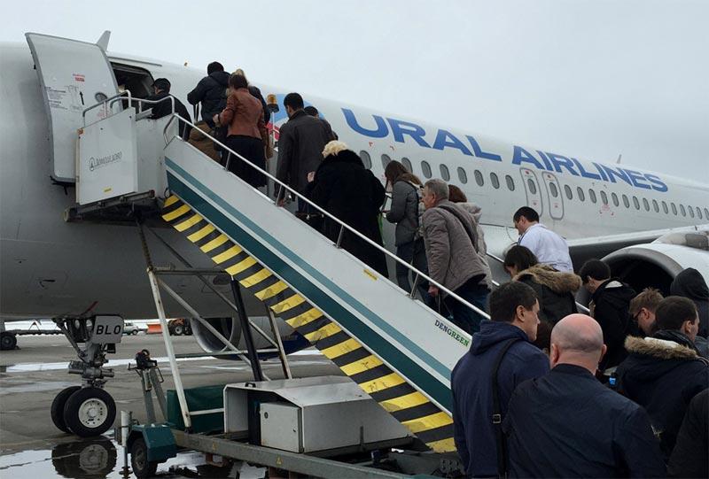 И снова в Сочи.Москва(DME)-Сочи(AER) с Уральскими авиалиниями.