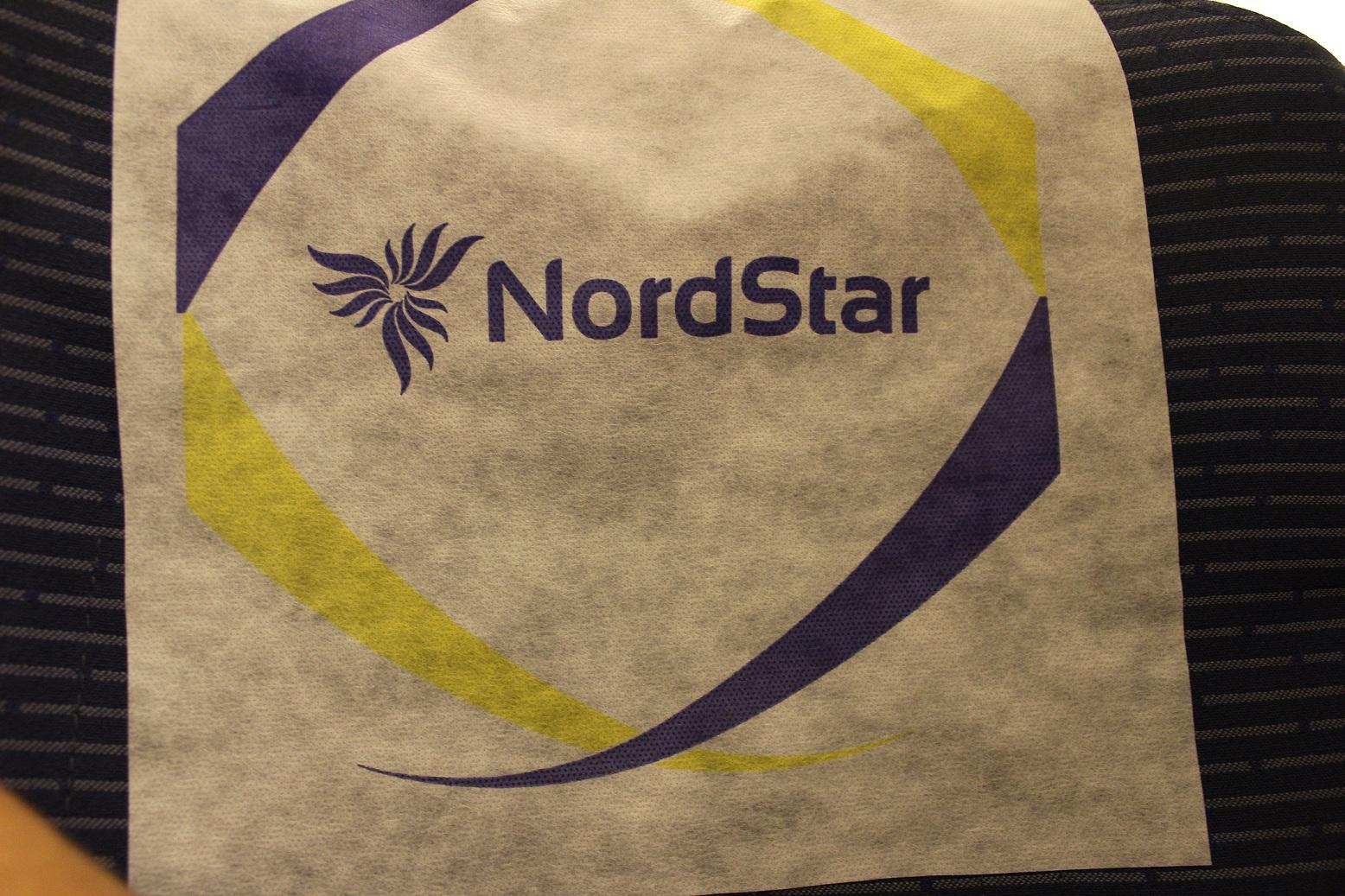 Подголовник авиакомпании NordStar (Таймыр)