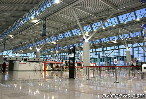 Аэропорт имени Шопена в Варшаве