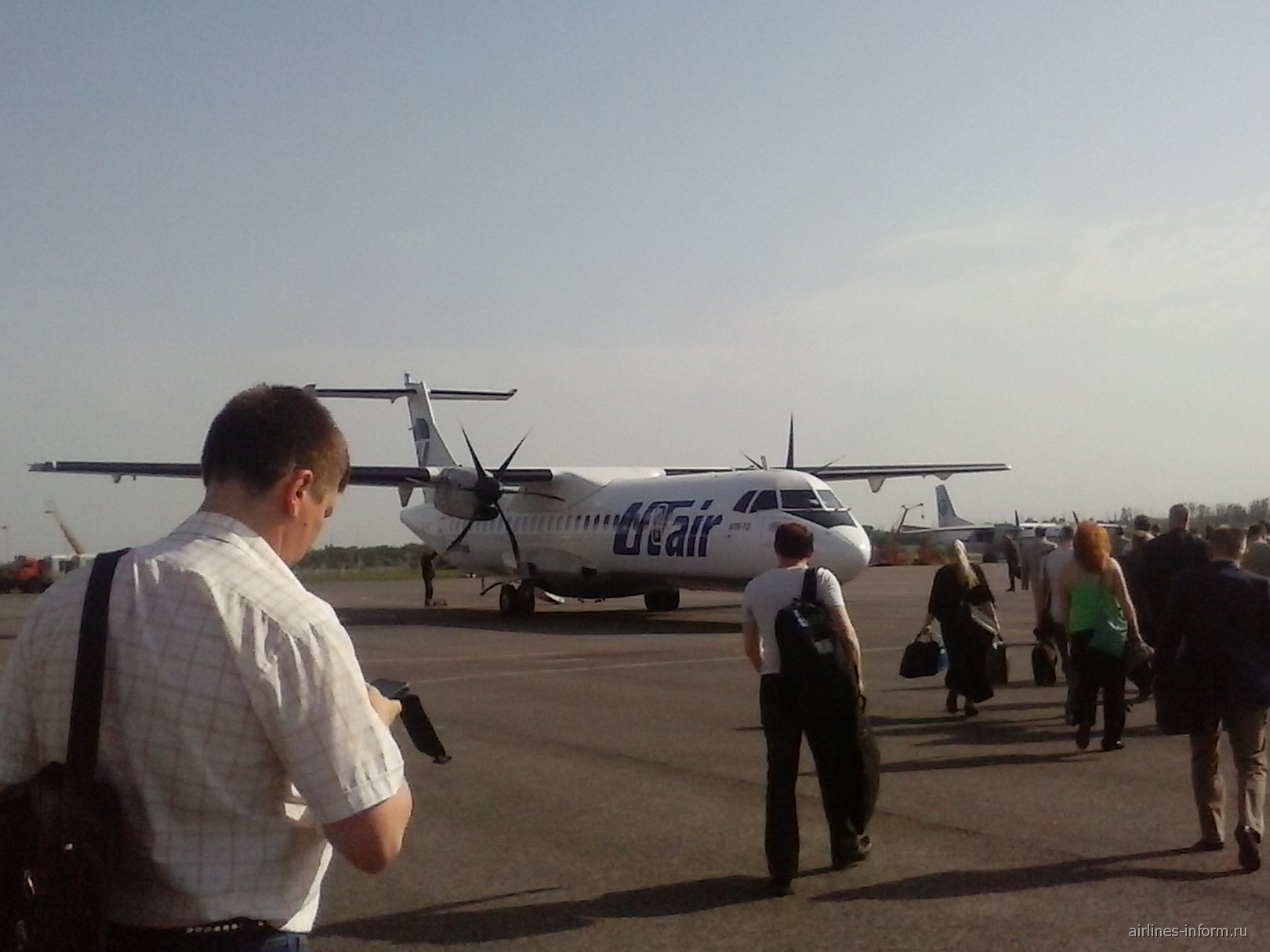 Рейс Тамбов-Москва авиакомпании ЮТэйр