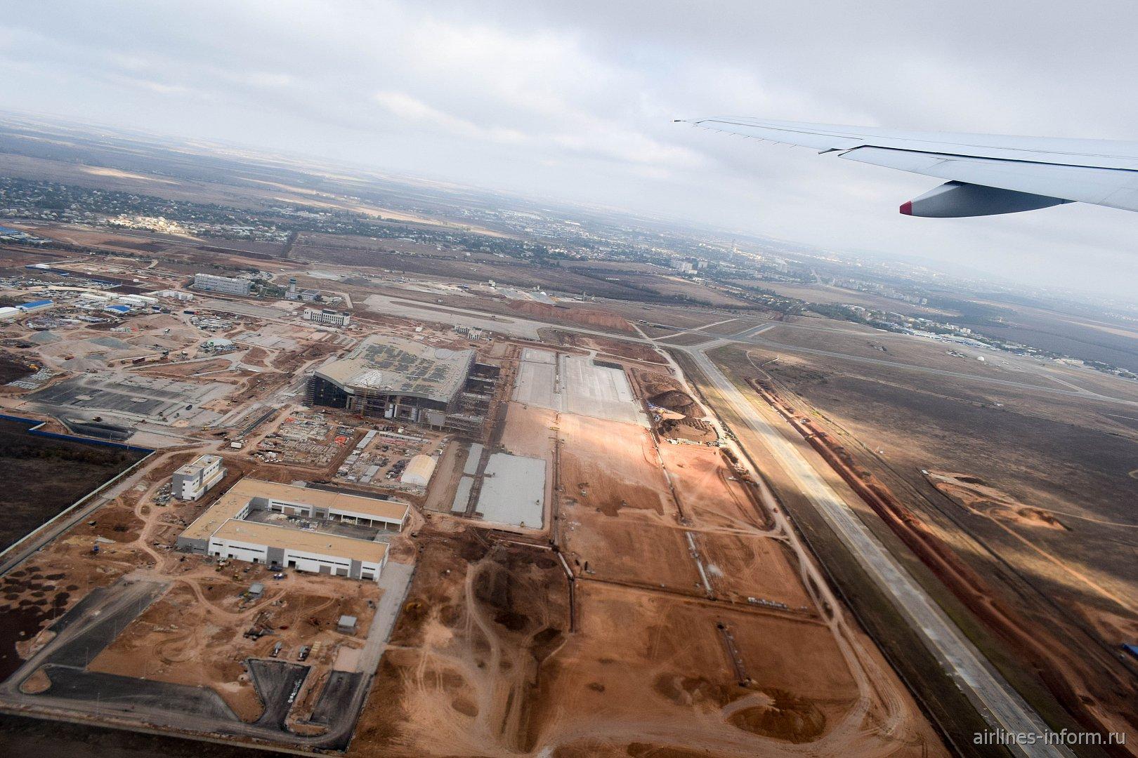 Строительство нового пассажирского терминала в аэропорту Симферополь
