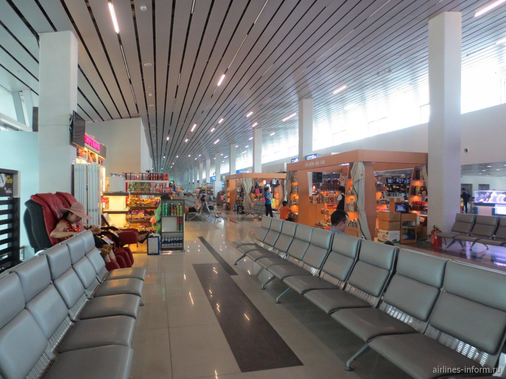 В чистой зоне аэропорта Фукуок