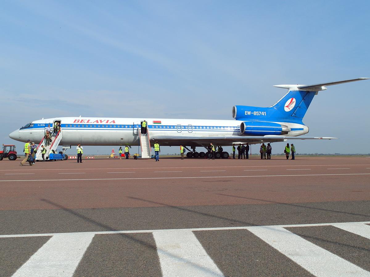 Из Минска в Гомель на Ту-154 - Полет ради полета: Легенда
