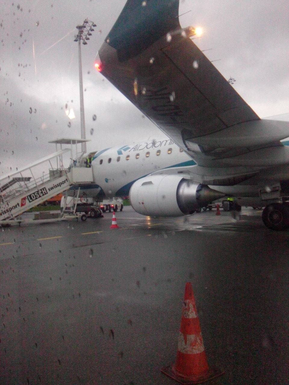 Самолет Embraer 195 авиакомпании Air Dolomiti
