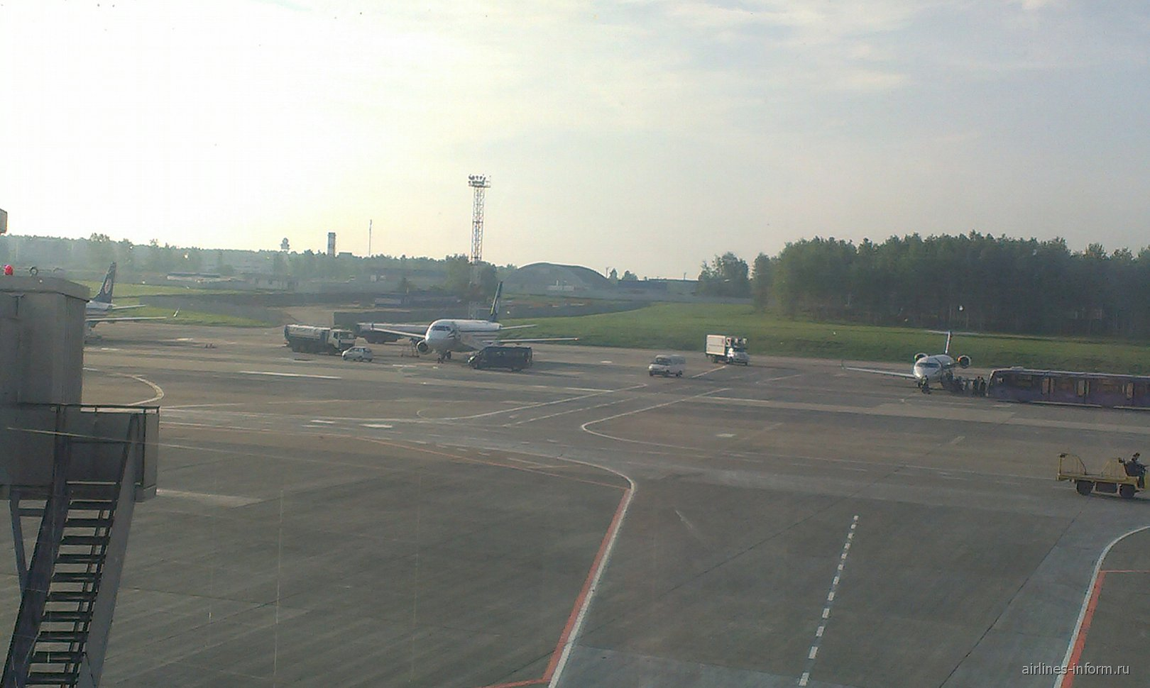 В аэропорту Минска