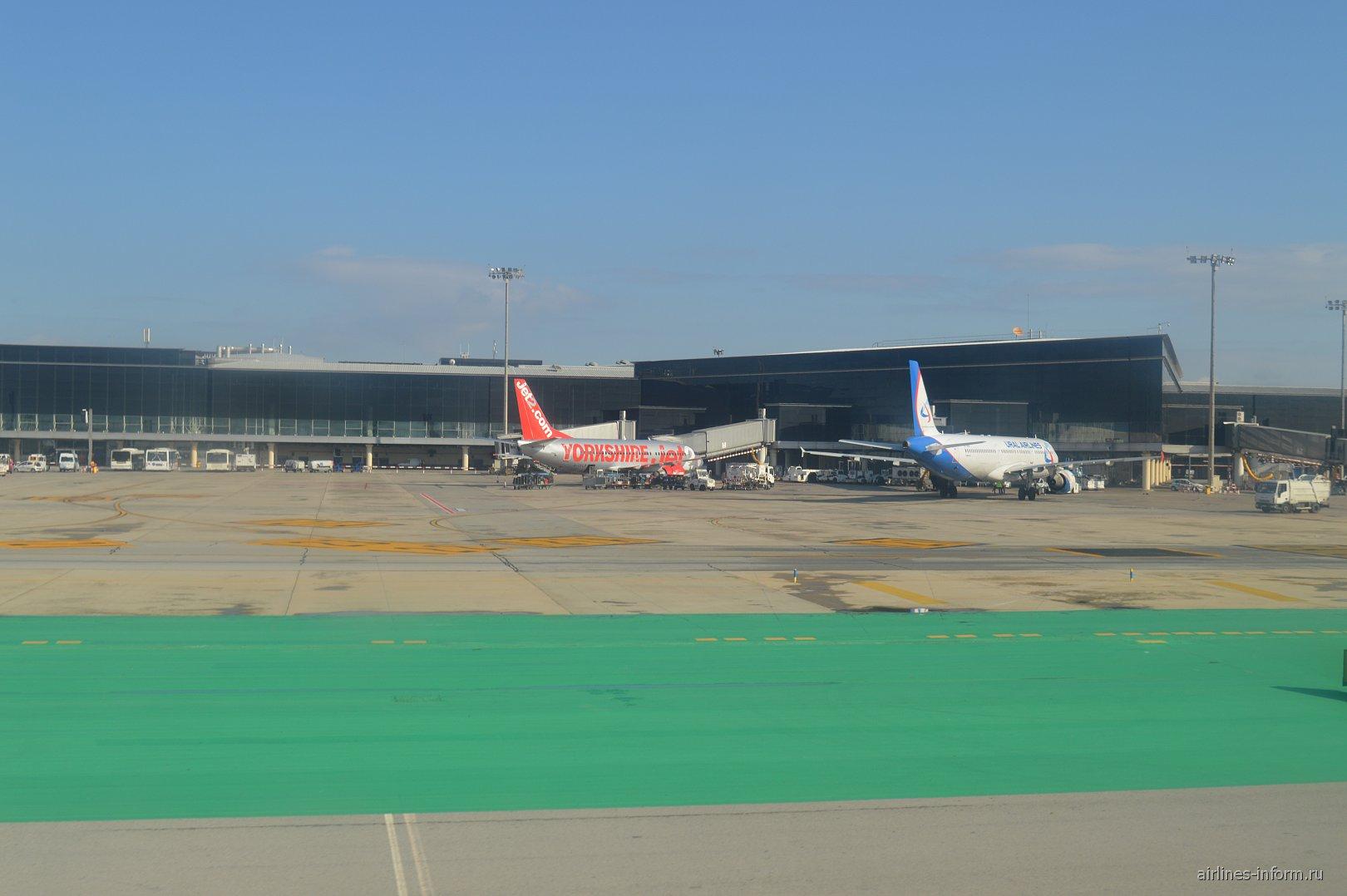 В аэропорту Барселоны