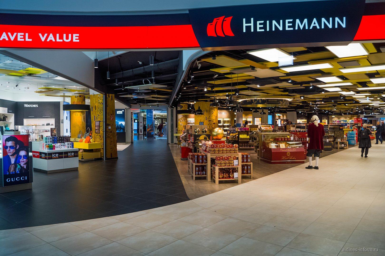 Магазины Duty-Free в аэропорту Вена Швехат