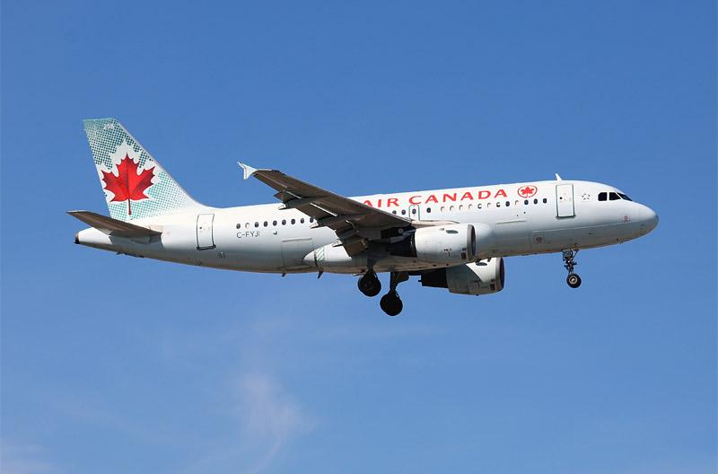 Споттинг в Торонто - канадская авиация